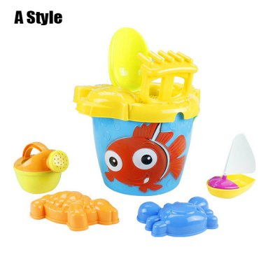 7 in 1 Kid Beach Bucket Set Sand Tool Outdoor Toy for Child