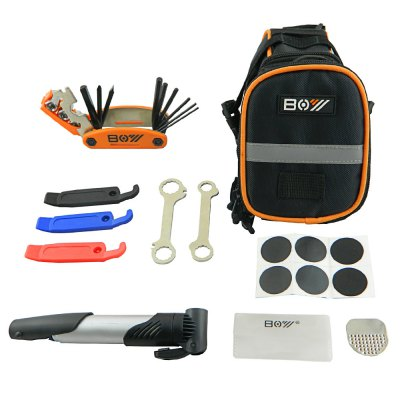 BOY 8016A Multi-function Bike Repair Kit + Bag