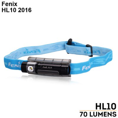 Fenix HL10 2016 LED HeadlampHeadlights<br>Fenix HL10 2016 LED Headlamp<br><br>Headlight brand: Fenix<br>Model: HL10 2016<br>Function: Camping,EDC,Hiking,Household Use,Night Riding,Walking<br>Feature: Angle adjustment,Can be used as headlamp or bicycle light,Tail Stand Capacity<br>Luminous Flux: 70Lm<br>Peak Beam Intensity: 229cd<br>Color Temperature: 6500-7000K<br>Main Lamp Beads: Philips LXZ2 - 5770<br>Beads Number: 1<br>Mode: 3 (High &gt; Mid &gt; Low)<br>Switch Type: Clicky<br>Switch Location: Tailcap<br>Battery Type: AAA<br>Battery Quantity: 1 x AAA battery (included)<br>Power Source: Battery<br>Working Voltage: 1.5V<br>Reflector: Aluminum Smooth Reflector<br>Lens: PC Lens<br>Beam Distance: 0-50m<br>Working Time: max 24h<br>Impact Resistance: 1M<br>LED Lifespan: 50000 hrs<br>Waterproof: IPX-8 Standard Waterproof (Underwater 2m)<br>Available Light Color: Cool White<br>Color: Black,Gold,Purple<br>Body Material: Aluminium Alloy<br>Product weight: 0.033 kg<br>Package weight: 0.090 kg<br>Product size (L x W x H): 7.00 x 2.50 x 2.50 cm / 2.76 x 0.98 x 0.98 inches<br>Package size (L x W x H): 15.00 x 10.00 x 6.00 cm / 5.91 x 3.94 x 2.36 inches<br>Package Contents: 1 x Fenix HL10 2016 LED Headlight, 1 x AAA Alkaline Battery, 1 x Keychain, 1 x O-ring, 1 x English Manual