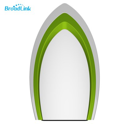 Broadlink A1 e-Air Smart Home Air DetectorOther Home Improvement<br>Broadlink A1 e-Air Smart Home Air Detector<br><br>Brand: BroadLink<br>Current (mA): 1A<br>Frequency: 50Hz<br>Model: A1<br>Package Contents: 1 x Broadlink A1 e-Air Wireless Air Quality Detector, 1 x Adapter, 1 x USB Cable<br>Package size (L x W x H): 16.40 x 10.60 x 10.80 cm / 6.46 x 4.17 x 4.25 inches<br>Package weight: 0.350 kg<br>Power (W): Less than 1.6W<br>Product size (L x W x H): 6.70 x 6.30 x 11.50 cm / 2.64 x 2.48 x 4.53 inches<br>Product weight: 0.200 kg<br>Voltage (V): DC 5V<br>Working Humidity: Less than 85pct<br>Working Temperature: 0 - 50 degree