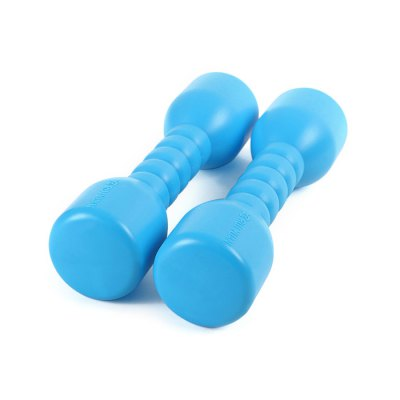 Funny 2PCs / Set Soundless Dumbbell Fitness Sport Toy for Kid