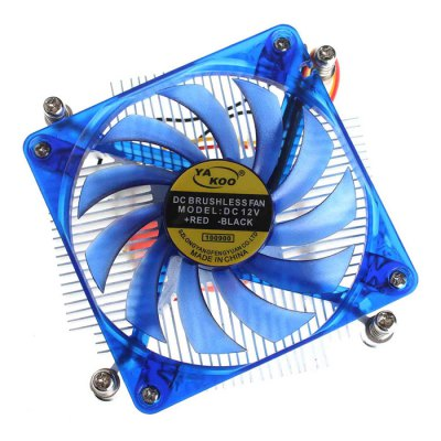 DN160190 CPU Cooling Fan Two Ball Bearing Compatible with Intel LGA775