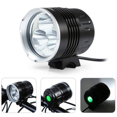 DECAKER 1500Lm XML T6 3 LED Bicycle Light Flashlight