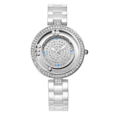WeiQin 1034 Ladies Quartz WatchWomens Watches<br>WeiQin 1034 Ladies Quartz Watch<br><br>Brand: Weiqin<br>Watches categories: Female table<br>Watch style: Casual,Fashion<br>Watch color: White and Rose Gold, White and Pink, White<br>Movement type: Quartz watch<br>Watch mirror: Mineral glass<br>Shape of the dial: Round<br>Display type: Analog<br>Case material: Alloy<br>Band material: Ceramic<br>Clasp type: Hidden clasp<br>Water resistance : 30 meters<br>Dial size: 3.45 x 0.9 cm / 1.36 x 0.35 inches<br>Band size: 21.2 x 1.37 cm / 8.35 x 0.53 inches<br>Product weight: 0.077 kg<br>Package weight: 0.112 kg<br>Product size (L x W x H): 21.20 x 3.45 x 0.90 cm / 8.35 x 1.36 x 0.35 inches<br>Package size (L x W x H): 22.20 x 4.45 x 1.90 cm / 8.74 x 1.75 x 0.75 inches<br>Package Contents: 1 x WeiQin 1034 Women Imported Japan Quartz Watch