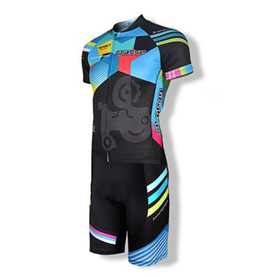 SPAKCT S14C01 / S14T01 Cycling SuitCycling Clothings<br>SPAKCT S14C01 / S14T01 Cycling Suit<br><br>Type: Short Sleeves Cycling Suit<br>Suitable Crowds: Men<br>Size: L,M,XL,XXL<br>Feature: Breathable,High elasticity,Quick Dry<br>Product weight: 0.379 kg<br>Package weight: 0.420 kg<br>Package size (L x W x H): 32.00 x 25.00 x 7.00 cm / 12.6 x 9.84 x 2.76 inches<br>Package Contents: 1 x SPAKCT S14C01 / S14T01 Short Sleeve Tops, 1 x Short Pants