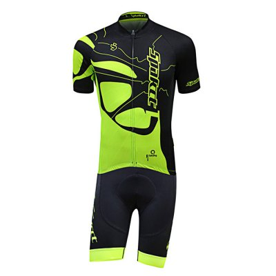 SPAKCT S16C20 / S16T20 Cycling SuitCycling Clothings<br>SPAKCT S16C20 / S16T20 Cycling Suit<br><br>Type: Short Sleeves Cycling Suit<br>Suitable Crowds: Men<br>Size: L,M,XL,XXL<br>Feature: Breathable,High elasticity,Quick Dry<br>Product weight: 0.379 kg<br>Package weight: 0.420 kg<br>Package size (L x W x H): 32.00 x 25.00 x 7.00 cm / 12.6 x 9.84 x 2.76 inches<br>Package Contents: 1 x SPAKCT S16C20 / S16T20 Short Sleeve Tops, 1 x Short Pants