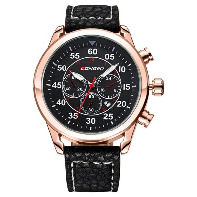 LONGBO 1036 Male Quartz Watch