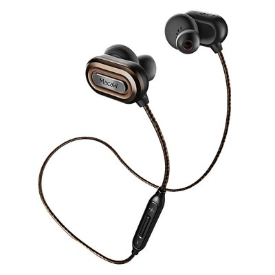 MACAW T1000 Brown Earphones