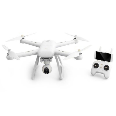 XIAOMI Mi Drone 4K WIFI FPV QuadcopterRC Quadcopters<br>XIAOMI Mi Drone 4K WIFI FPV Quadcopter<br><br>Battery: 15.2V 5100mAh<br>Brand: Xiaomi<br>Built-in Gyro: 6 Axis Gyro<br>Channel: Unknown<br>Charging Time.: About 3.5<br>Control Distance: Above 800m<br>Detailed Control Distance: About 3000m<br>Flying Time: About 27mins<br>Functions: Forward/backward, Waypoints, Up/down, Turn left/right, Camera, FPV, Hover, Low-voltage Protection, One Key Automatic Return, One Key Landing, One Key Taking Off, Tap to Fly<br>Kit Types: RTF<br>Level: Advanced Level<br>Material: PC, Electronic Components, Carbon Fiber<br>Mode: Mode 2 (Left Hand Throttle)<br>Model Power: Built-in rechargeable battery<br>Motor Type: Brushless Motor<br>Package Contents: 1 x Quadcopter, 1 x Transmitter, 1 x Camera, 1 x Charger, 1 x Chinese Manual<br>Package size (L x W x H): 39.00 x 46.00 x 18.00 cm / 15.35 x 18.11 x 7.09 inches<br>Package weight: 4.5800 kg<br>Product size (L x W x H): 38.00 x 45.50 x 17.00 cm / 14.96 x 17.91 x 6.69 inches<br>Radio Mode: Mode 2 (Left-hand Throttle)<br>Remote Control: 2.4GHz Wireless Remote Control<br>Type: Quadcopter<br>Video Resolution: 4K