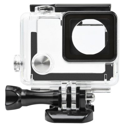 Protective Housing with External MicrophoneAction Cameras &amp; Sport DV Accessories<br>Protective Housing with External Microphone<br><br>Accessory type: Camera Accessories Kit<br>Apply to Brand: Gopro<br>Compatible with: Gopro Hero 3 Plus, Gopro Hero 4<br>Material: Plastic<br>Package Contents: 1 x Protective Housing + Base + Screw, 1 x Microphone, 2 x Microphone Cover, 1 x Microphone Adapter<br>Package size (L x W x H): 16.00 x 13.00 x 6.00 cm / 6.3 x 5.12 x 2.36 inches<br>Package weight: 0.145 kg