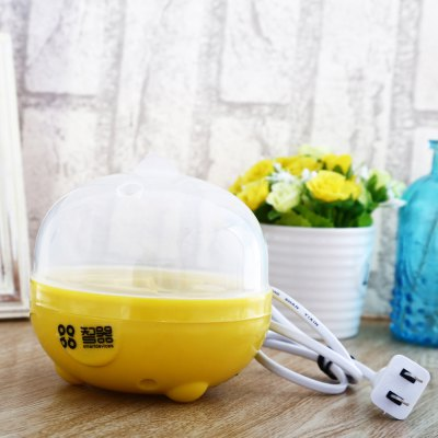 Practical Mini Electric Egg BoilerCooker &amp; Steamer<br>Practical Mini Electric Egg Boiler<br><br>Type: Other Kitchen Accessories<br>Material: ABS<br>Product weight: 0.163 kg<br>Package weight: 0.300 kg<br>Product size (L x W x H): 11.00 x 11.00 x 10.00 cm / 4.33 x 4.33 x 3.94 inches<br>Package size (L x W x H): 13.50 x 13.50 x 16.00 cm / 5.31 x 5.31 x 6.3 inches<br>Package Contents: 1 x Electric Egg Boiler