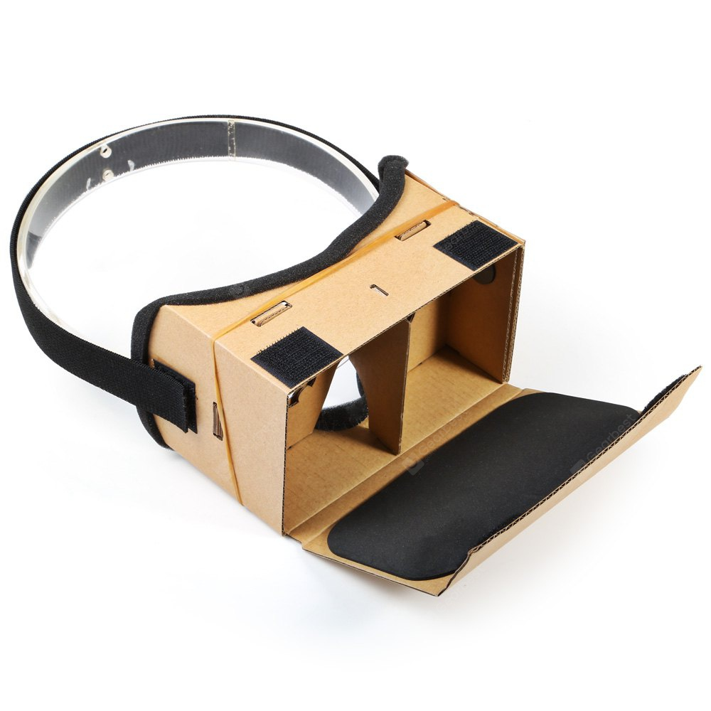 DIY 3D VR Cardboard Viewer for 3.5 - 5.5 inch Smartphone