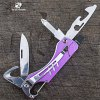 HX OUTDOORS CZ001 9 in 1 Multifunctional Tool Knife