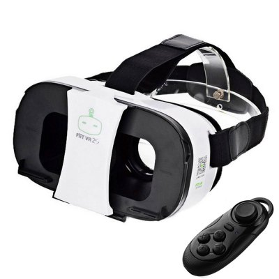 FIIT VR 2S 3D Virtual Reality Glasses Lightweight with Remote Controller