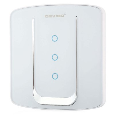 Orvibo ZigBee Smart SwitchOther Home Improvement<br>Orvibo ZigBee Smart Switch<br><br>Brands: Orvibo<br>Output Adjustable Range : 80m (in open air)<br>Frequency (Hz): 50 / 60Hz<br>Power (W): Less than 0.1W<br>Product weight: 0.100 kg<br>Package weight: 0.205 kg<br>Product size (L x W x H): 9.00 x 8.60 x 3.40 cm / 3.54 x 3.39 x 1.34 inches<br>Package size (L x W x H): 15.00 x 12.00 x 5.50 cm / 5.91 x 4.72 x 2.17 inches<br>Package Contents: 1 x Orvibo ZigBee Smart Switch, 2 x Screw