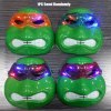 1PC Luminous Movie Turtle Style Mask Glowing Party for Adult Child