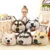 Funny Simulation Animal Image Pillow Seat Cushion for Sofa Bed Chair photo