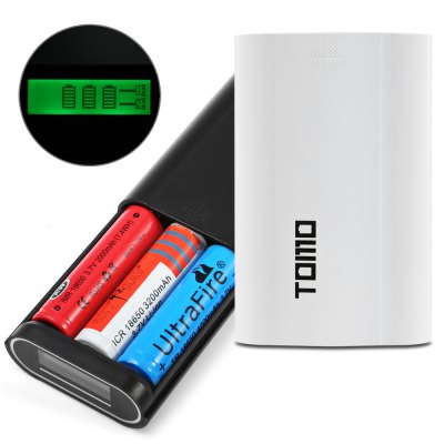 TOMO V8 - 3 USB Battery Charger Power Bank