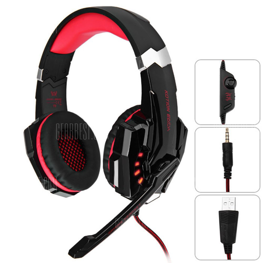 KOTION EACH G9000 3.5mm USB Vibration Gaming Headset for PS4 157006101