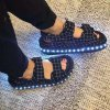 USB Charging Flashing LED Shoes for sale
