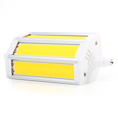 15W R7S 1350Lm COB Horizontal Plug LED BulbCorn Bulbs<br>15W R7S 1350Lm COB Horizontal Plug LED Bulb<br><br>Available Light Color: Warm White,White<br>CCT/Wavelength: 2800-3200K,6000-6500K<br>Certifications: CE<br>Emitter Types: COB<br>Features: Long Life Expectancy, Energy Saving<br>Function: Commercial Lighting, Studio and Exhibition Lighting, Home Lighting<br>Holder: R7S<br>Luminous Flux: 1350LM<br>Output Power: 15W<br>Package Contents: 1 x LED Horizontal Plug Lamp<br>Package size (L x W x H): 12.80 x 6.00 x 4.10 cm / 5.04 x 2.36 x 1.61 inches<br>Package weight: 0.096 kg<br>Product size (L x W x H): 11.80 x 5.00 x 3.10 cm / 4.65 x 1.97 x 1.22 inches<br>Product weight: 0.078 kg<br>Sheathing Material: Aluminum<br>Total Emitters: 3<br>Type: Horizontal Plug Lamp<br>Voltage (V): AC 85-265
