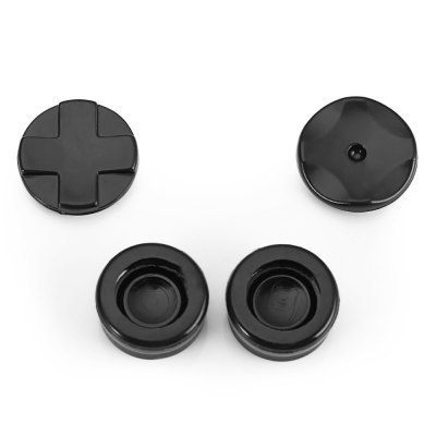 4-in-1 Replacement Button Cap Set for Sony PS4 Controller