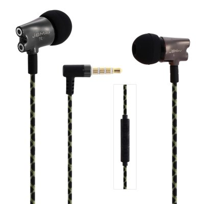 JBMMJ S800 HiFi In-ear Earphones with Mic
