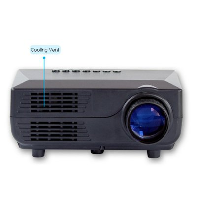VS311 LCD ProjectorProjectors<br>VS311 LCD Projector<br><br>Working Voltage : 90 - 240V<br>Frequency: 50 - 60Hz<br>Model: VS311<br>Display type: LCD<br>Native Resolution: 480 x 320<br>Brightness: 150 Lumens<br>Contrast Ratio: 1000:1<br>Projection Distance: 0.9 - 5.5M<br>Image Size: 20 - 150 inch<br>Image Scale: 16:9,4:3<br>Lamp: LED<br>Interface: 3.5mm Audio,AV,DC Port,HDMI,SD Card Slot,USB,VGA<br>Picture Formats: JPE, GIF, PNG, TIF, BMP<br>Video Formats: 3GP (H263, MPEG4), AVI (XVID, DIVX, H264), MKV (XVID, DIVX, H264), FLV (FLV1), MOV (H264), MP4 (MPEG4, AVC), MPG (MPEG1), VOB (MPEG2), RMVB (RV40)<br>Power Supply: 12V<br>Audio Formats: MP3, WMAASF, OGG, AAC, WAV<br>Certificate: CE,FCC<br>Other Features: Support TXT Text Document Reader / Automatic and Manual Page Read / Continuous Playback Breakpoint<br>Color: Black,White<br>Product weight: 0.409 kg<br>Package weight: 0.820 kg<br>Product size (L x W x H): 16.00 x 11.00 x 6.50 cm / 6.3 x 4.33 x 2.56 inches<br>Package size (L x W x H): 21.50 x 18.50 x 9.00 cm / 8.46 x 7.28 x 3.54 inches<br>Package Contents: 1 x VS311 LCD Projector, 1 x Remote Control, 1 x Adapter, 1 x AV Cable, 1 x Triangle Bracket, 1 x English Instruction Manual