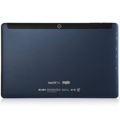 Cube iWork 10 Flagship Ultrabook Tablet PC Type-CTablet PCs<br>Cube iWork 10 Flagship Ultrabook Tablet PC Type-C<br><br>Brand: Cube<br>Type: Ultrabook<br>OS: Android 5.1,Windows 10<br>CPU Brand: Intel<br>CPU: Intel Atom X5-Z8300<br>GPU: Gen8-LP10<br>Core: 1.44GHz,Quad Core<br>RAM: 4GB<br>ROM: 64GB<br>External Memory: TF card up to 128GB (not included)<br>Support Network: WiFi<br>WIFI: 802.11b/g/n wireless internet<br>Bluetooth: Yes<br>Screen type: Capacitive (10-Point),IPS<br>Screen size: 10.1 inch<br>Screen resolution: 1920 x 1200 (WUXGA)<br>Camera type: Dual cameras (one front one back)<br>Back camera: 2.0MP<br>Front camera: 2.0MP<br>Video recording: Yes<br>TF card slot: Yes<br>Type-C: Yes<br>Micro USB Slot: Yes<br>Micro HDMI: Yes<br>3.5mm Headphone Jack: Yes<br>Battery Capacity(mAh): 7500mAh<br>Battery / Run Time (up to): 6 hours video playing time<br>AC adapter: 100-240V 5V 2A<br>G-sensor: Supported<br>Skype: Supported<br>Youtube: Supported<br>Speaker: Supported<br>MIC: Supported<br>Notification LED: Supported<br>Picture format: BMP,GIF,JPEG,PNG<br>Music format: AAC,MP3,OGG,WAV,WMA<br>Video format: 1080P,3GP,AVI,MP4,RMVB,WMV<br>MS Office format: Excel,PPT,Word<br>E-book format: PDF,TXT<br>Pre-installed Language: Windows OS is built-in Chinese and English, and other languages need to be downloaded by WiFi. Android OS supports multi-language<br>Additional Features: Bluetooth,Browser,E-book,Gravity Sensing System,HDMI,Light Sensing System,MP3,MP4,OTG,WAP,Wi-Fi<br>Product size: 26.30 x 16.90 x 0.80 cm / 10.35 x 6.65 x 0.31 inches<br>Package size: 29.50 x 22.00 x 5.00 cm / 11.61 x 8.66 x 1.97 inches<br>Product weight: 0.593 kg<br>Package weight: 1.098 kg<br>Tablet PC: 1<br>OTG Cable: 1<br>USB Cable: 1<br>User Manual (Chinese - English): 1