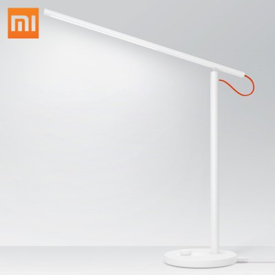 Xiaomi Mijia Smart LED Desk LampTable Lamps<br>Xiaomi Mijia Smart LED Desk Lamp<br><br>Available Color: White<br>Brand: Xiaomi<br>CCT: 2700-6500K<br>Features: Dimmable, APP Control<br>Input Voltage: AC 100-240V<br>Luminance: 300LM<br>Optional Light Color: Cool White,Warm White,White<br>Package Contents: 1 x Xiaomi Smart LED Desk Lamp, 1 x Charger<br>Package size (L x W x H): 16.00 x 16.00 x 49.00 cm / 6.3 x 6.3 x 19.29 inches<br>Package weight: 1.5200 kg<br>Power: 6W<br>Powered Source: AC<br>Product size (L x W x H): 15.00 x 44.50 x 44.50 cm / 5.91 x 17.52 x 17.52 inches<br>Product weight: 0.8000 kg<br>Suitable for: Home use, Office
