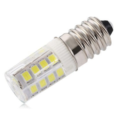 UltraFire 3W E14 26 x SMD 2835 289LM Ceramic LED Corn Capsule BulbCorn Bulbs<br>UltraFire 3W E14 26 x SMD 2835 289LM Ceramic LED Corn Capsule Bulb<br><br>Available Light Color: White<br>Brand: Ultrafire<br>CCT/Wavelength: 6000K<br>Emitter Types: SMD 2835<br>Features: Low Power Consumption, Long Life Expectancy<br>Function: Studio and Exhibition Lighting, Commercial Lighting, Home Lighting<br>Holder: E14<br>Luminous Flux: 289LM<br>Output Power: 3W<br>Package Contents: 1 x LED Corn Bulb<br>Package size (L x W x H): 5.50 x 3.00 x 3.00 cm / 2.17 x 1.18 x 1.18 inches<br>Package weight: 0.018 kg<br>Product size (L x W x H): 4.20 x 1.00 x 1.00 cm / 1.65 x 0.39 x 0.39 inches<br>Product weight: 0.009 kg<br>Sheathing Material: Ceramics<br>Total Emitters: 26pcs<br>Type: Corn Bulbs<br>Voltage (V): AC 220