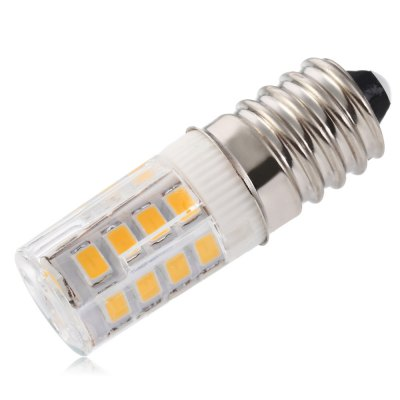 UltraFire 3W E14 26 x SMD 2835 289LM Ceramic LED Corn Capsule BulbCorn Bulbs<br>UltraFire 3W E14 26 x SMD 2835 289LM Ceramic LED Corn Capsule Bulb<br><br>Available Light Color: Warm White<br>Brand: Ultrafire<br>CCT/Wavelength: 3000K<br>Emitter Types: SMD 2835<br>Features: Low Power Consumption, Long Life Expectancy<br>Function: Studio and Exhibition Lighting, Commercial Lighting, Home Lighting<br>Holder: E14<br>Luminous Flux: 289LM<br>Output Power: 3W<br>Package Contents: 1 x LED Corn Bulb<br>Package size (L x W x H): 5.50 x 3.00 x 3.00 cm / 2.17 x 1.18 x 1.18 inches<br>Package weight: 0.018 kg<br>Product size (L x W x H): 4.20 x 1.00 x 1.00 cm / 1.65 x 0.39 x 0.39 inches<br>Product weight: 0.009 kg<br>Sheathing Material: Ceramics<br>Total Emitters: 26pcs<br>Type: Corn Bulbs<br>Voltage (V): AC 220