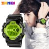 Skmei 1026 LED Sports Military Watch 50M Waterproof Japan Movtz Week Date Display Wristwatch
