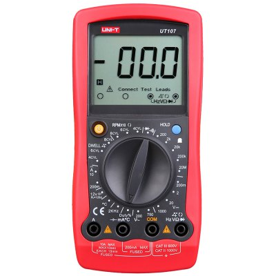 UNI - T UT107 Portable Digital Automotive Multimeter