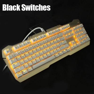 Team Wolf X06 Gaming Mechanical Keyboard Blue Switches