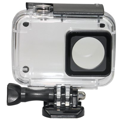 SMACO Diving Waterproof Housing Case for Xiaomi Yi II Action CameraAction Cameras &amp; Sport DV Accessories<br>SMACO Diving Waterproof Housing Case for Xiaomi Yi II Action Camera<br><br>Apply to Brand: Xiaomi<br>Compatible with: Xiaomi Yi II<br>Accessory type: Protective Cases/Housing<br>Waterproof: Yes<br>For Activity: Boating,Dive,Surfing,Wakeboarding<br>Product weight: 0.090 kg<br>Package weight: 0.280 kg<br>Product size (L x W x H): 8.00 x 8.00 x 4.00 cm / 3.15 x 3.15 x 1.57 inches<br>Package size (L x W x H): 12.00 x 10.00 x 6.00 cm / 4.72 x 3.94 x 2.36 inches<br>Package Contents: 1 x Waterproof Case, 1 x Dock, 1 x Screw