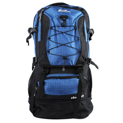CAMEL MOUNTAIN 45L BackpackBackpacks<br>CAMEL MOUNTAIN 45L Backpack<br><br>Bag Capacity: 45L<br>Brand: CAMEL MOUNTAIN<br>Capacity: Above 40L<br>Color: Black,Blue,Gray,Green,Red<br>Features: Water Resistance, Tactical Style, Laptop Bag<br>For: Traveling, Camping, Climbing, Cycling, Sports, Tactical<br>Material: Nylon<br>Package Contents: 1 x Travel Backpack<br>Package size (L x W x H): 44.00 x 24.00 x 6.00 cm / 17.32 x 9.45 x 2.36 inches<br>Package weight: 1.156 kg<br>Product size (L x W x H): 32.00 x 23.00 x 60.00 cm / 12.6 x 9.06 x 23.62 inches<br>Product weight: 1.100 kg<br>Type: Backpack