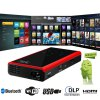 cheap E06S Full Function 120LM 854 x 480 Pixels Android4.4.2 DLP WiFi Bluetooth Projector 1GB RAM 4GB ROM for TV Box Computer Phone Camera Console VCD DVD Player
