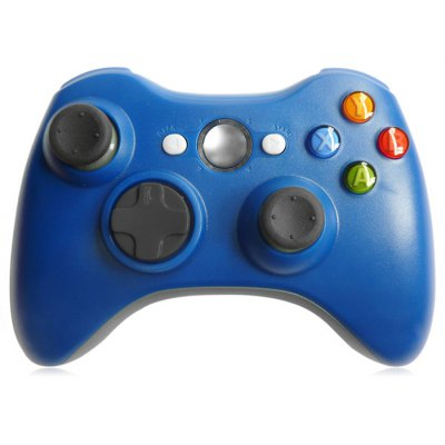 2.4GHz Wireless Game Controller Gamepad for Microsoft Xbox 360 Support Three-level Vibration
