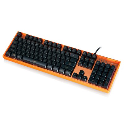 Motospeed K10 Wired USB KeyboardKeyboards<br>Motospeed K10 Wired USB Keyboard<br><br>Brand: Motospeed<br>Model: K10<br>Type: Keyboard<br>Features: Gaming<br>Material: Aluminum Alloy<br>Color: Orange,Pink,Red,Silver<br>Interface: Wired<br>Suitable for: PC,PC360<br>Product weight: 1.120 kg<br>Package weight: 1.517 kg<br>Product size (L x W x H): 44.40 x 13.40 x 3.80 cm / 17.48 x 5.28 x 1.5 inches<br>Package size (L x W x H): 49.00 x 17.00 x 7.00 cm / 19.29 x 6.69 x 2.76 inches<br>Package Contents: 1 x Motospeed K10 Keyboard