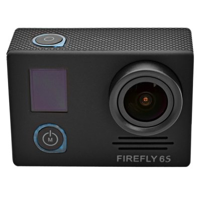 FIREFLY 6S 4K WiFi Sport HD DV CameraAction Cameras<br>FIREFLY 6S 4K WiFi Sport HD DV Camera<br><br>Brand Name: FIREFLY<br>Brand: FIREFLY<br>Model: FIREFLY 6S<br>Type: Sports Camera<br>Chipset Name: Novatek<br>Chipset: Novatek 96660<br>Max External Card Supported: TF 64G (not included)<br>Class Rating Requirements: Class 10 or Above<br>Screen size: 0.65inch<br>Screen type: LCD<br>Battery Type: Removable<br>Charge way: USB charge by PC<br>Working Time: 80 minutes (at 1080P 60fps and 4K 24fps)<br>Camera Pixel : 16.0 megapixels<br>Decode Format: H.264<br>Video format: MOV<br>Video Resolution: 1080P (1920 x 1080),2K(2560 x 1440)30fps,4K (4096 x 2160),720P (1280 x 720),VGA (640 x 480)<br>Video System: NTSC,PAL<br>Video Output : HDMI<br>Image Format : JPG<br>White Balance Mode: Auto<br>Scene: Auto<br>WIFI: Yes<br>WiFi Function: Remote Control<br>Waterproof: Yes<br>Waterproof Rating : 30m underwater with waterproof case<br>Loop-cycle Recording : Yes<br>HDMI Output: Yes<br>WDR: Yes<br>HDR: Yes<br>Auto-Power On : Yes<br>Delay Shutdown : Yes<br>Time Stamp: Yes<br>Interface Type: Micro HDMI,Micro USB,TF Card Slot<br>Language: English<br>Product weight: 0.075 kg<br>Package weight: 0.650 kg<br>Product size (L x W x H): 5.90 x 4.10 x 2.10 cm / 2.32 x 1.61 x 0.83 inches<br>Package size (L x W x H): 15.00 x 10.00 x 27.00 cm / 5.91 x 3.94 x 10.63 inches<br>Package Contents: 1 x FIREFLY 6S 4K WiFi Sport HD DV Camera, 1 x Waterproof Case, 1 x 1600mAh Battery, 1 x Lens Cover, 1 x J-Shaped Mount, 1 x Long Connector + Screw, 2 x Short Connector + Screw, 1 x Bike Handlebar Sea