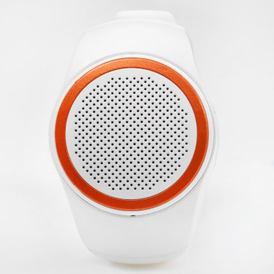 Ourspop B20 Wireless Bluetooth Sport Watch Mini SpeakerSpeakers<br>Ourspop B20 Wireless Bluetooth Sport Watch Mini Speaker<br><br>Audio Source: Bluetooth Enabled Devices,TF/Micro SD Card<br>Bluetooth Version: V2.1+EDR<br>Brands: Ourspop<br>Compatible with: TF/Micro SD Card<br>Connection: Wireless<br>Design: Portable, Mini, Sport<br>Freq: 120Hz-20KHz<br>Interface: Mini USB<br>Material: Plastic<br>Model: B20<br>Number of Speakers: 1<br>Package Contents: 1 x Music Watch, 1 x USB Cable, 1 x Bilingual User Manual<br>Package size (L x W x H): 12.00 x 10.00 x 9.00 cm / 4.72 x 3.94 x 3.54 inches<br>Package weight: 0.190 kg<br>Power Output: 3W<br>Product size (L x W x H): 6.50 x 6.00 x 4.50 cm / 2.56 x 2.36 x 1.77 inches<br>Product weight: 0.069 kg<br>S/N: 80dB<br>Sound channel: Mono<br>Speaker Impedance: 3 ohm<br>Supports: Bluetooth, FM, Hands-free Calls, Remote Control, TF Card Music Playing