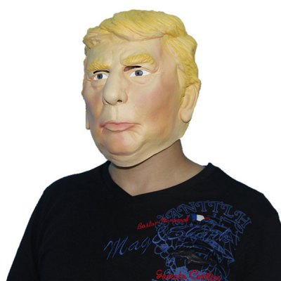 Realistic Famous People Face Environmental Latex Rubber Mask