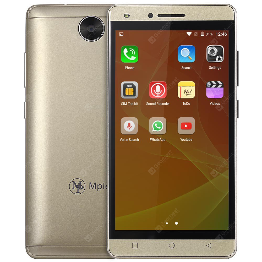 Mpie MG6 3G Smartphone-54.69 Online Shopping GearBest.com