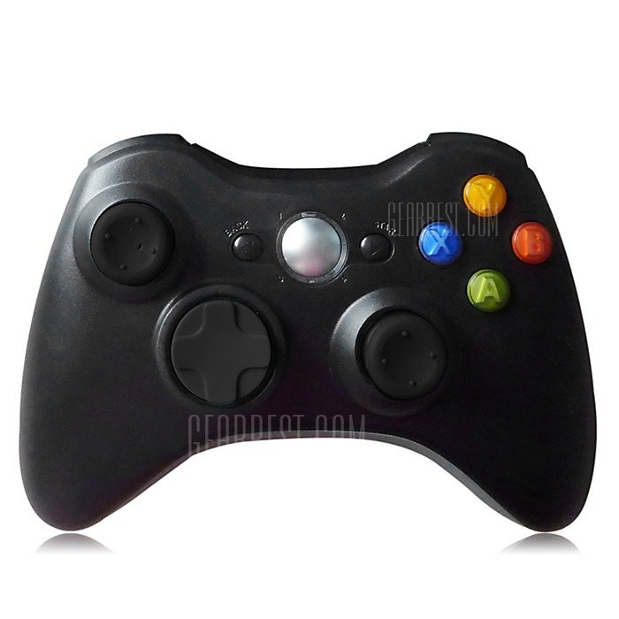 2.4GHz Wireless Game Controller Gamepad for Microsoft Xbox 360 Support Three-level Vibration 163053201