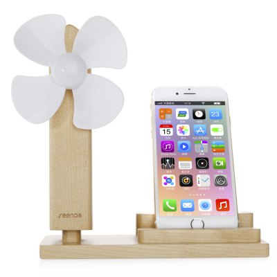 SEENDA USB Fan Mobile Charging Stand