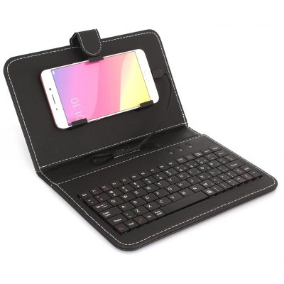Wire Connected Keyboard for Android Mobiles