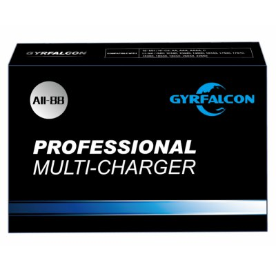 GYRFALCON All - 88 Smart Battery ChargerChargers<br>GYRFALCON All - 88 Smart Battery Charger<br><br>Brand: GYRFALCON<br>Type: Charger<br>Model: All-88<br>Charging Cell Type: LiFePO4,Lithium Ion,Ni-MH,NiCd<br>Compatible: 10180,10440,14500,16340,17500,17670,18350,18500,18650,26650,32650,AA,AAA,AAAA,C<br>Rechargeable Battery Qty: 8<br>Input Voltage: AC 110-240V 50/60Hz,DC 12V<br>Output Voltage: 8 x 1.5V / 3.6V / 4.2V / 4.3V / 4.35V + / - 0.05<br>LCD screen: Yes<br>Circuit Detection: Yes<br>Protected Circuit: Yes<br>Indicator: The light will turn red after fully charged<br>Over Voltage Protection: Yes<br>Short Circuit Protection: Yes<br>Over Charging Protection: Yes<br>Over Discharging Protection: Yes<br>Product weight: 0.560 kg<br>Package weight: 1.020 kg<br>Product size (L x W x H): 24.50 x 15.50 x 3.20 cm / 9.65 x 6.1 x 1.26 inches<br>Package size (L x W x H): 26.80 x 17.80 x 7.30 cm / 10.55 x 7.01 x 2.87 inches<br>Package Contents: 1 x GYRFALCON All-88 Battery Charger, 1 x Adapter + Cable, 1 x English Manual, 2 x Expansion Nut, 2 x C / D Accessory
