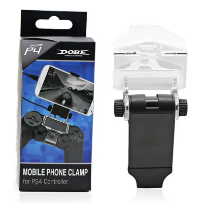 DOBE TP4-016 Cellphone Clamp Mount Bracket for PS4