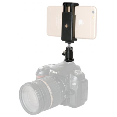 Fantaseal Camera Hot Shoe Ball Head Adapter with Clip